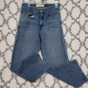 LEVIS 569 LOOSE STRAIGHT WOMENS SIZE 16 28X28